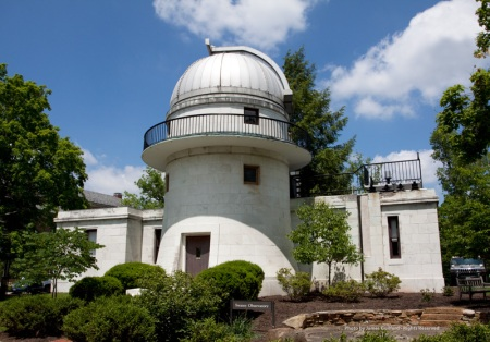 Photo: Swasey Observatory, Denison University, Granville, Ohio. Photo by James Guilford.