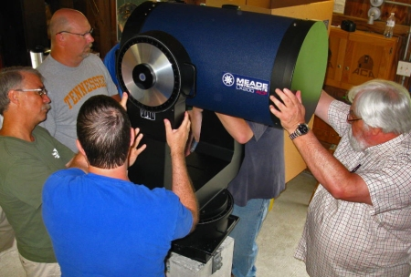 Photo: Astronomy Club of Akron's 2013 Meade 16-Inch SCT. ACA Photo