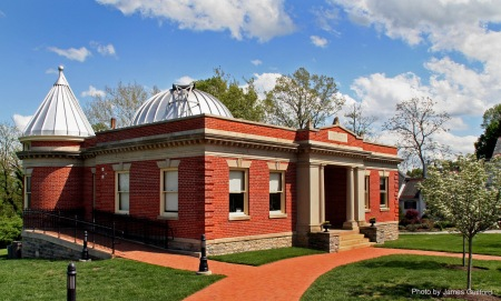 Photo: Mitchel Observatory of the Cincinnati Observatory Center. Photo by James Guilford