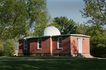 Photo: Loomis Observatory Exterior