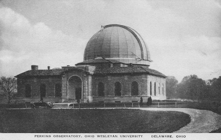Photo: Perkins Observatory - Antique Postcard