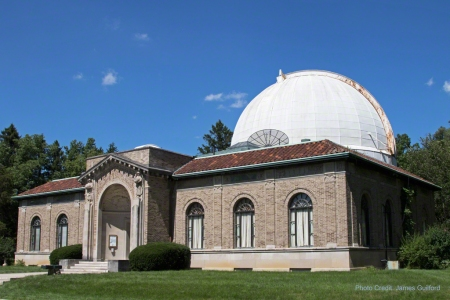 Photo: Perkins Observatory - July 2015. Photo by James Guilford.