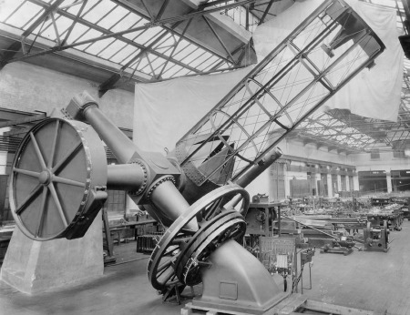 Photo: Perkins Telescope, Oct. 31, 1923.