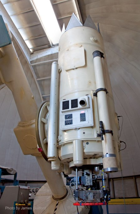 40-Inch Warner and Swasey Telescope. Photo by James Guilford.