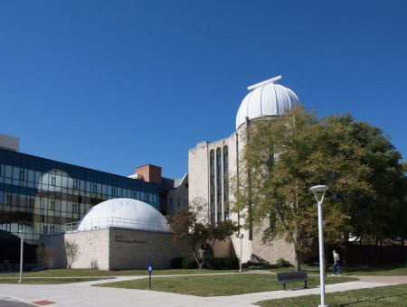 The Ritter Planetarium and Observatory, University of Toledo. Photo by James Guilford.