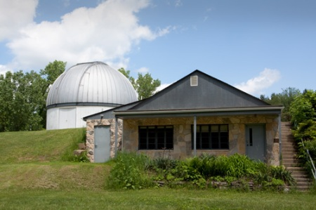 Photo: Exterior of Warren-Rupp Observatory