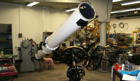 OU's Restored 1950 Fecker Telescope. Credit: Ohio University