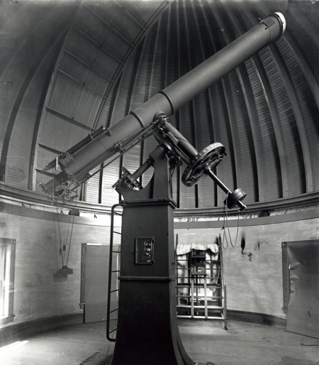 The Emerson McMillin Observatory's 12.5-Inch Telescope. Image Courtesy of the Ohio State University Archives.