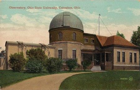 Image: Ohio State University Observatory - Postcard Ca. 1910