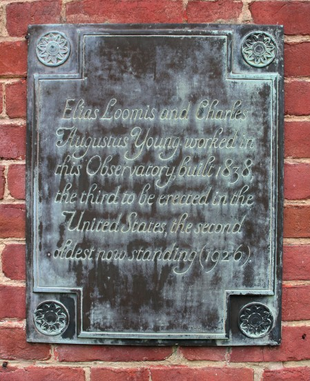 Photo: Loomis Historical Plaque. Photo by James Guilford.