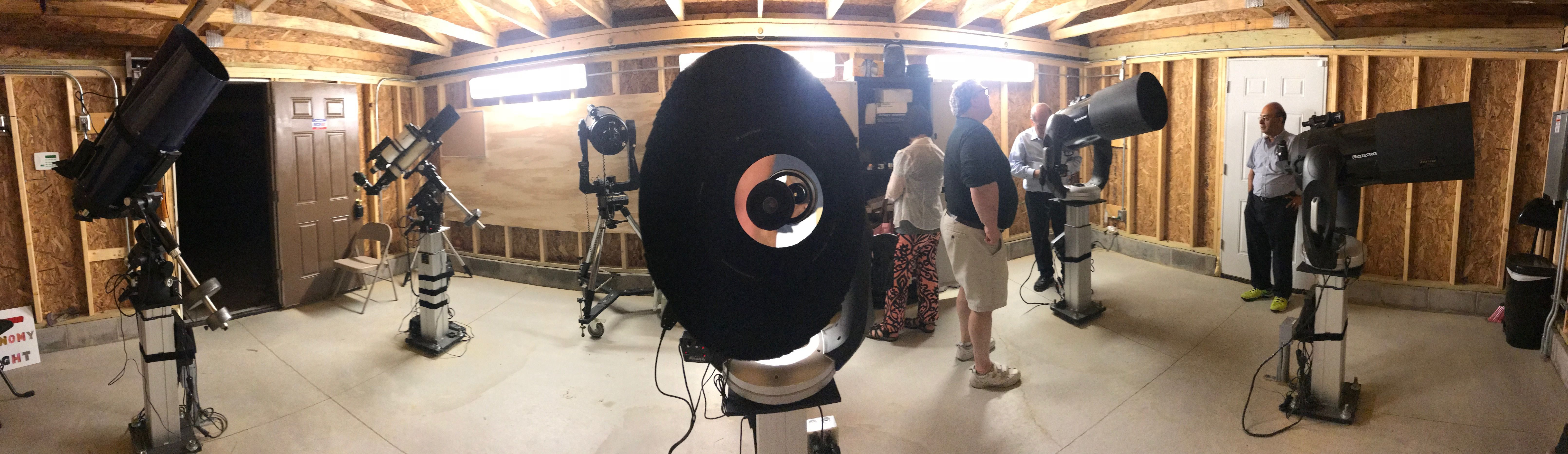 Fairlawn Rotary Observatory Interior -- Photo credit: Summit County Astronomy Club